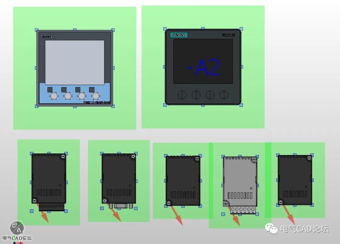 丨部件库丨西门子多功能电能仪表